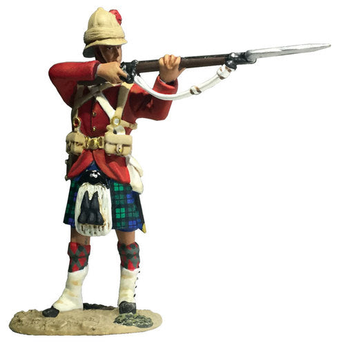 Britains Figures - 42nd Highland Brigade Standing Firing