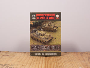 Flames of War Panzer Kanonen Miniature set