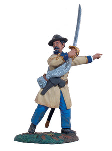 Britain Figures - Civil War Confederate Infantry Officer Advancing No.2