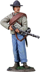 Britain Figure - Civil War Confederate Infantry Standing at Ready No.1