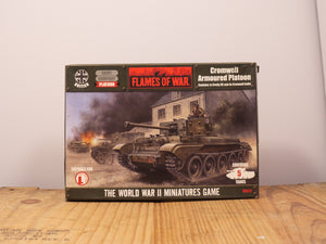 Flames of War Cromwell Aromoured Platoon Miniature Set
