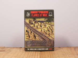 Flames of War Partisans & Polizei Miniature Set
