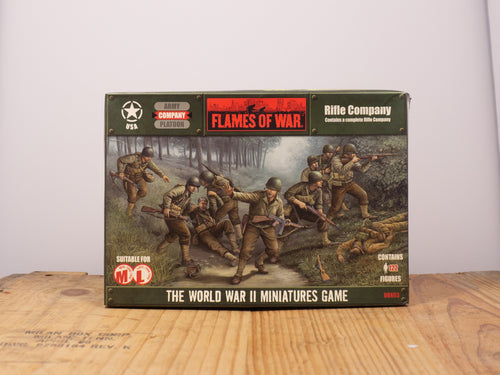 Flames of War Rifle Platoon Miniature Set