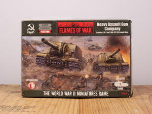 Flames of War Heavy Assault Gun Company