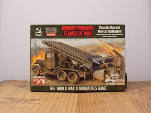 Flames of War Guards Rocket Mortar Battalion Miniature Set