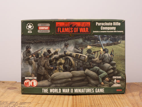 Flames of War Parachute Rifle Company Miniature Set