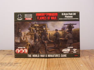 Flames of War 8.8cm FlaK 36 Platoon Miniature Set