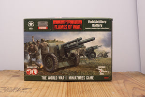 Flames of War Field Artillery Battery