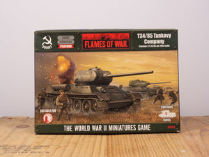 Flames of War T-34/85 Tankovy Company Miniature Set
