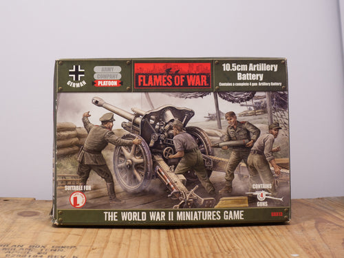 Flames of War 10.5cm Artillery Battery Miniature Platoon