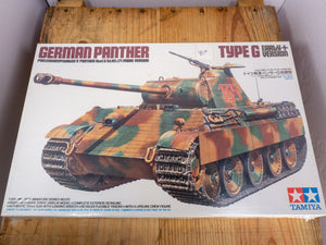 Type G German Panther Model Kit