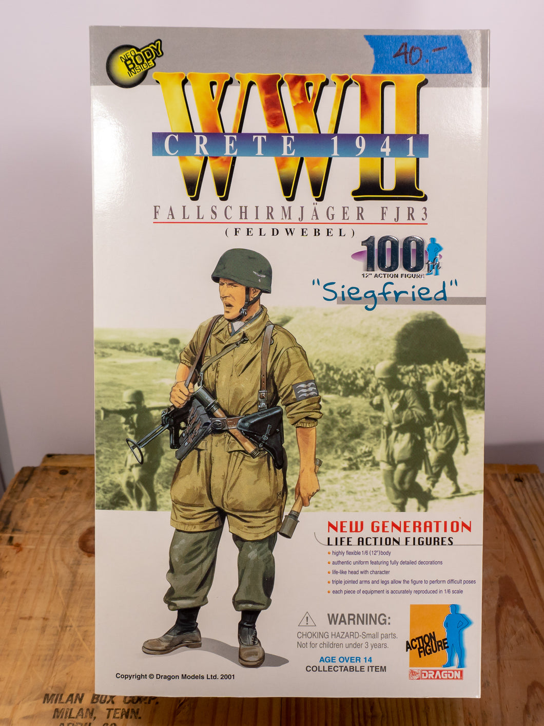 Dragon Action Figures  WWII Fallschirmjäger FJR3
