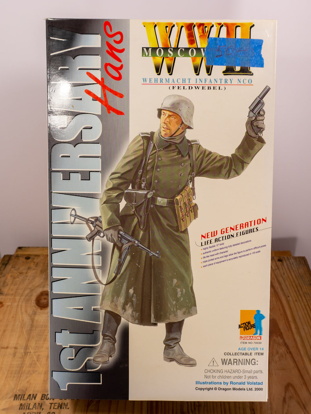 Dragon Action Figures WWII Wehrmacht Infantry NCO