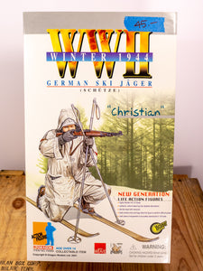 "Dragon Action Figures WWII German Ski Jager ""Christian"""