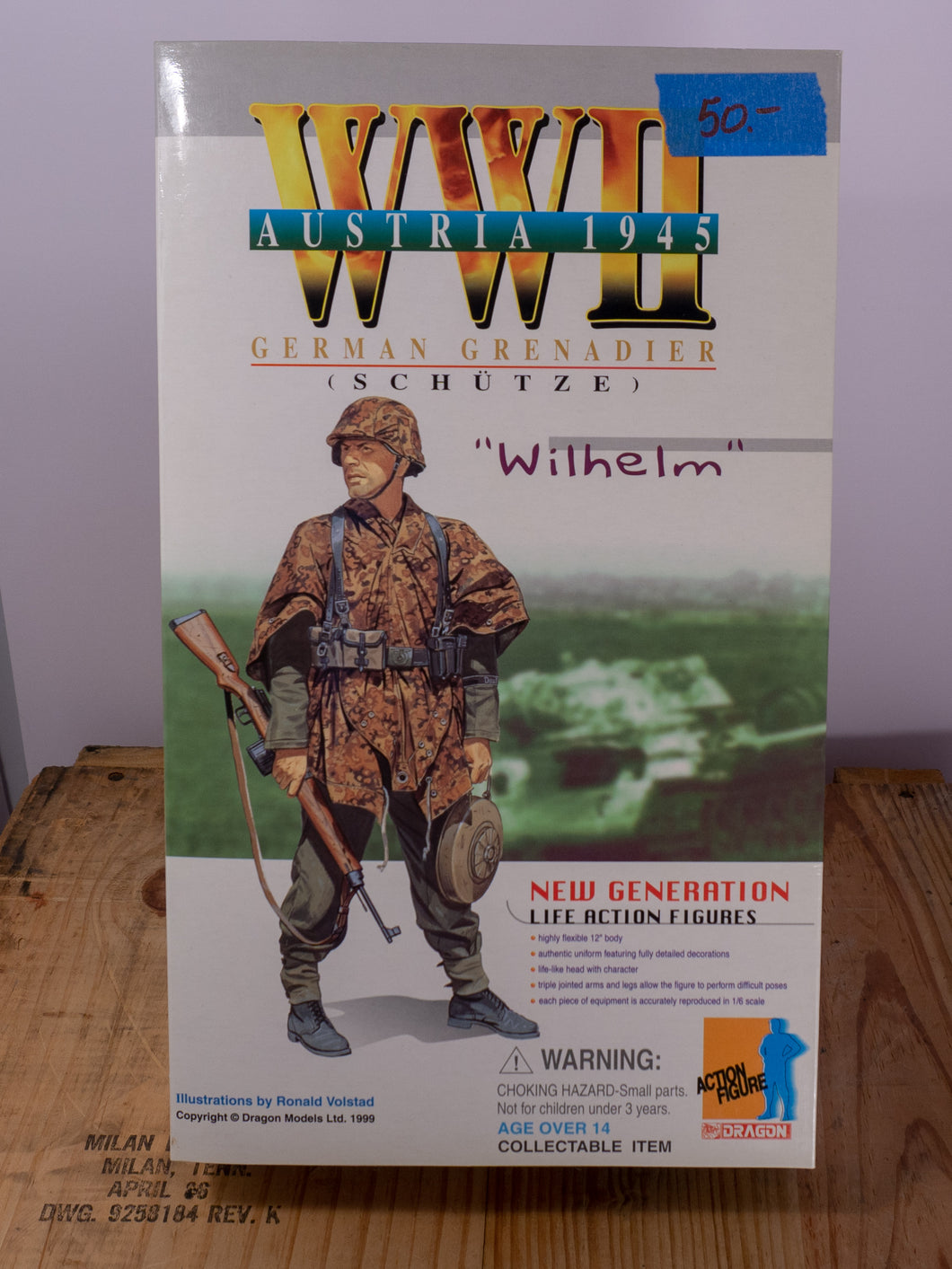 Dragon Action Figures WWII German Grenadier