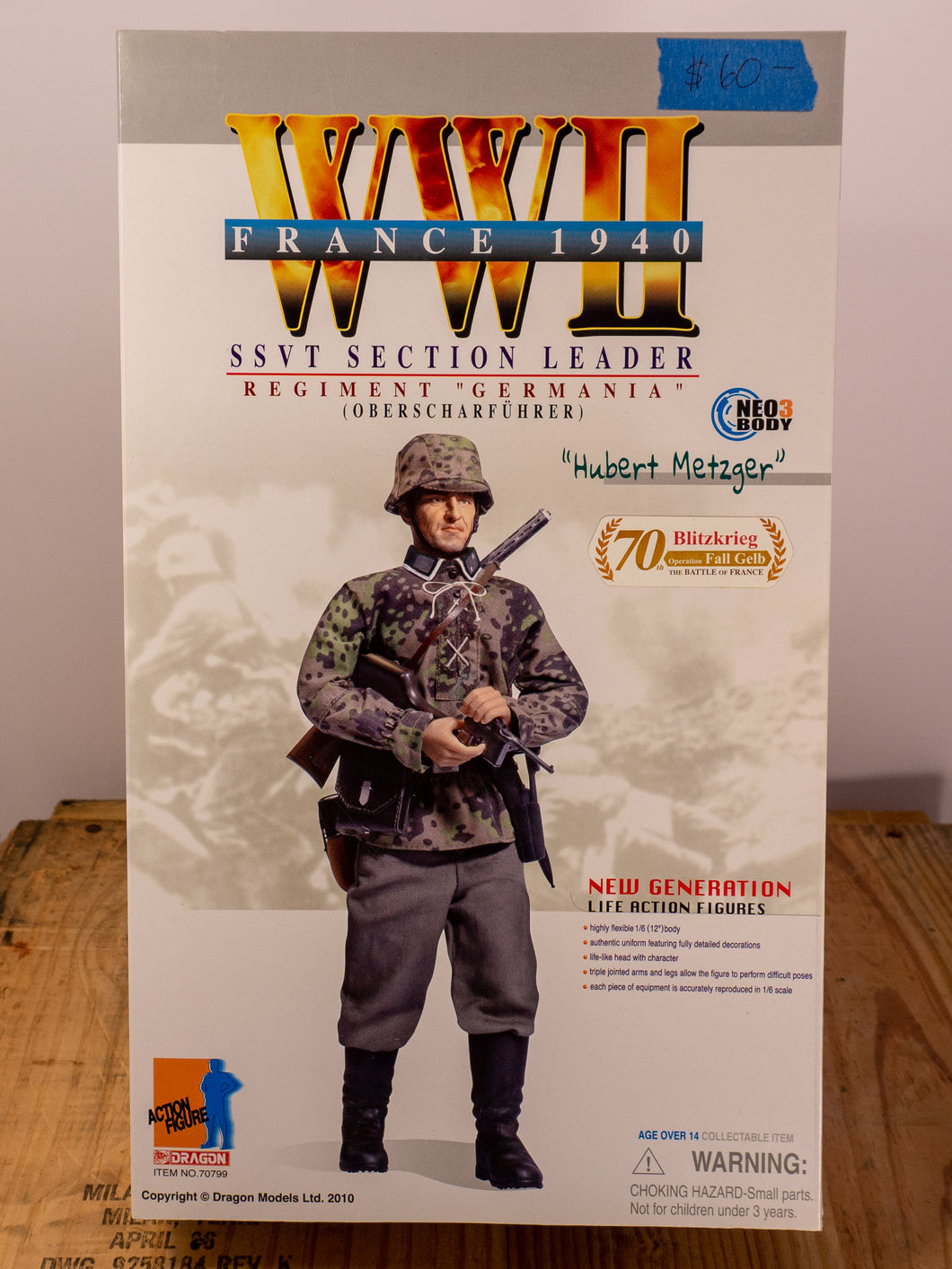 Dragon Action Figures WWII SSVT Section Leader
