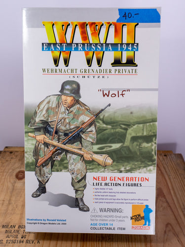 Dragon Action Figures WWII Wehrmacht Grenadier Private