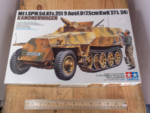 WWII Kanonenwagen Model Kit