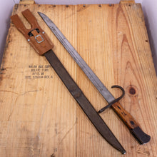 WWII Bayonet with Reproduction Frog