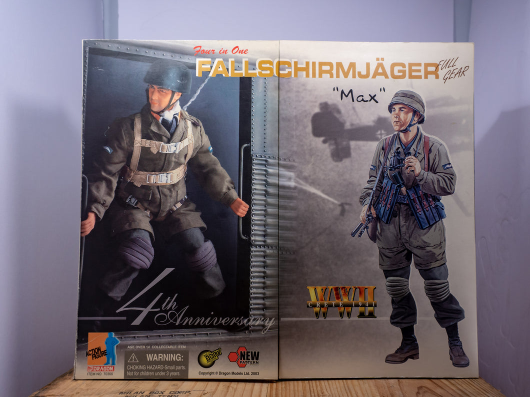Dragon Action Figures - 4th Anniversary Fallschirmjager
