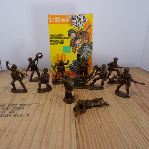 Atlantic Paratrooper Toy Soldiers
