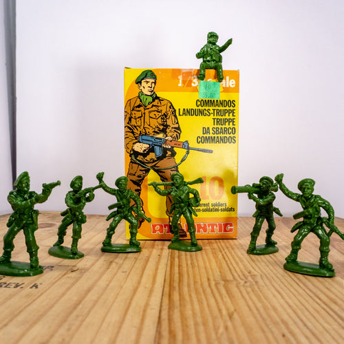 Atlantic Commando Toy Soldiers
