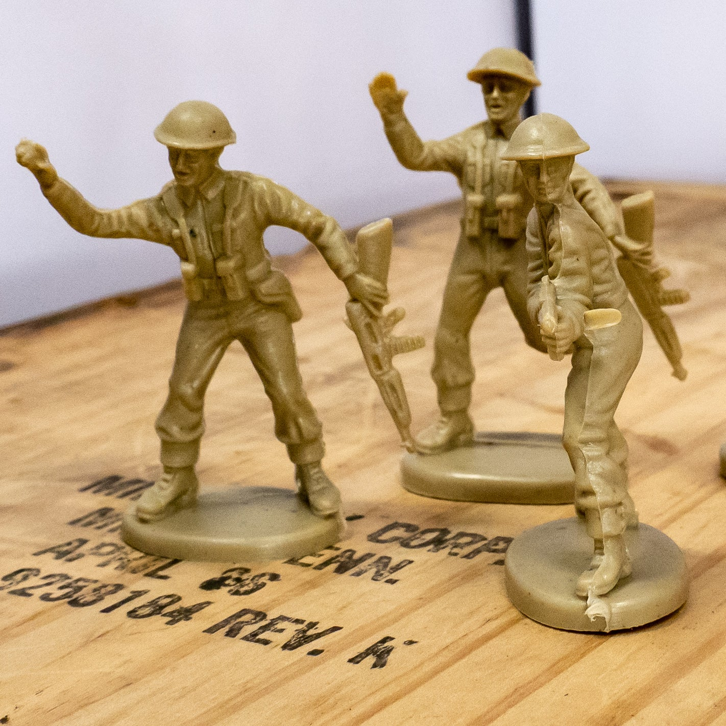 Atlantic British Infantry Toy Soldiers – The History Company