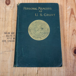 1st Edition: Personal Memoirs of U.S. Grant in Two Editions