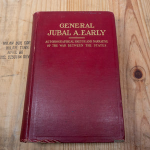 1912 - 1st edition General Jubal A. Early