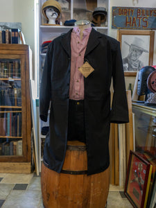 Frontier Classics Authentic Western Wear Black - Tombstone Style Jacket