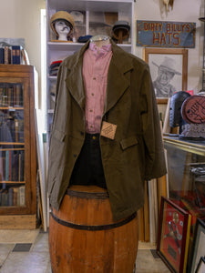 Frontier Classics Brown Authentic Western Wear Old West Gunfighter Coat