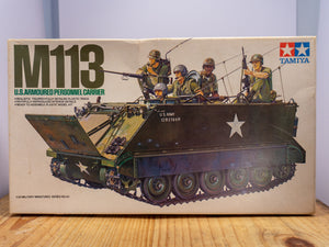 M113 US Armoured Personnel Carrier Model Kit