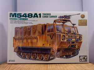 M548A1 Tracked Cargo Carrier Model Kit