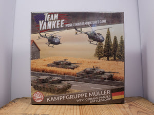 Team Yankee - KAMPFGRUPPE MÜLLER (WEST GERMAN) - WWIII Miniature set
