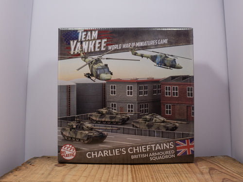 Team Yankee - Charlie's Chieftains - WWIII Miniature Set