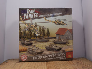 Team Yankee - POTECKNOV'S BEARS - Plastic Miniature Set