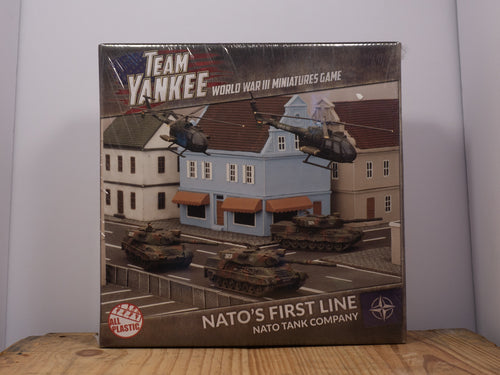 Team Yankee - Nato's First Line - Plastic Miniature Set