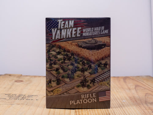 Team Yankee - Rifle Platoon - Miniature Set