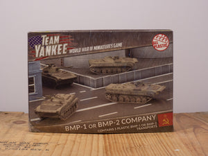 Team Yankee - BMP-1 (or BMP-2) Company - Plastic Miniature Set