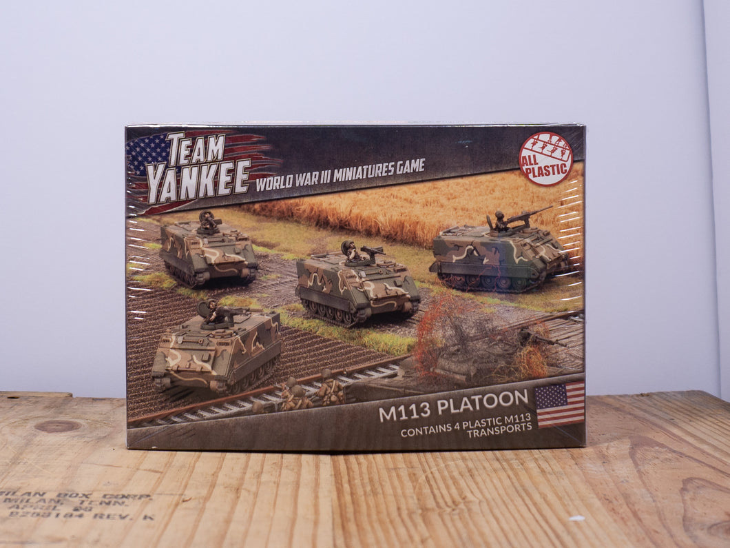 Team Yankee - M113 Platoon - Plastic Miniature Set