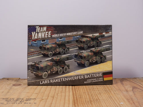 Team Yankee - LARS RAKETENWERFER BATTERIE -  Miniature Set