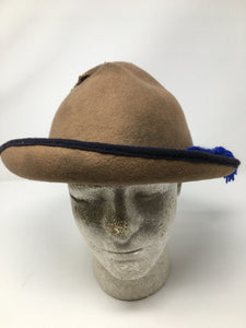 Interesting Reproduction Beehive Wool Hat