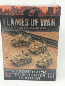 Flames of War Marder Tank-Hunter Platoon Miniature set