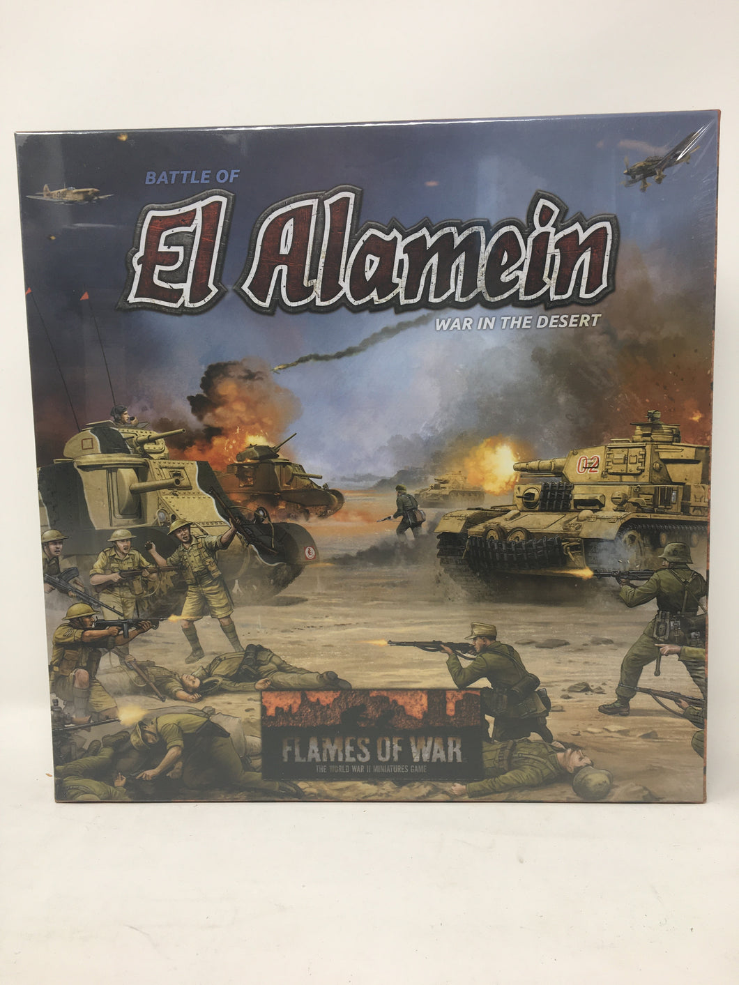 Flames of War El Alamein Miniature Set