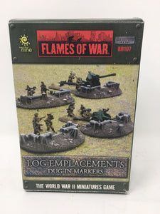 Flames of War Lof Emplacements Dug-In Markers Miniature set