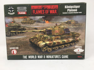 Flames of War Konigstiger Platoon GBX30 Miniature set