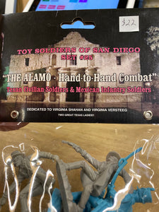 "Toy Soldiers of San Diego Set #25 ""The Alamo- Hand to Hand Combat"""