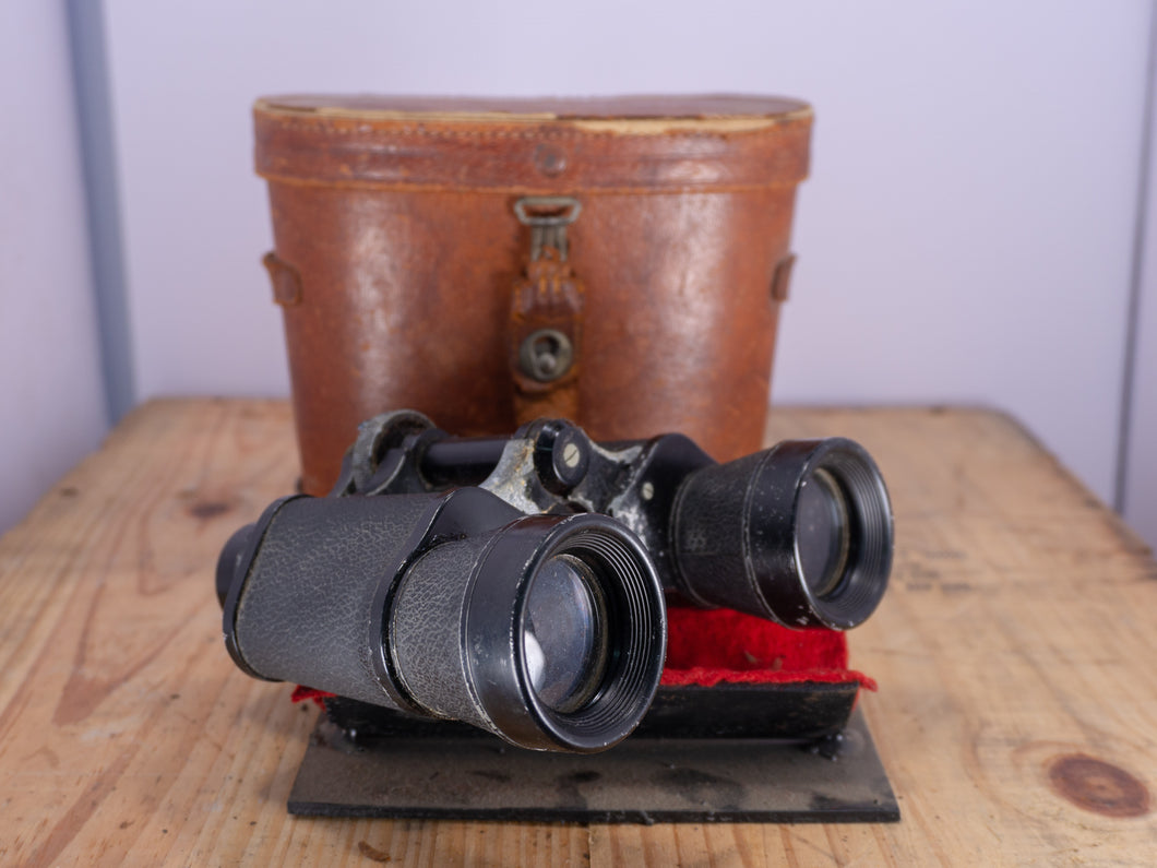 Kanto Glanz WWII Japanese Binoculars with case