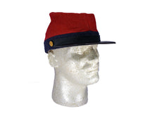 Reproduction Confederate CSA Jeancloth Artillery Kepi  P 23