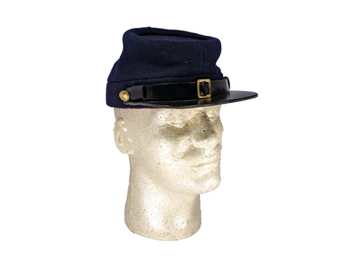 Reproduction Civil War Blue Wool Hainsworth Kepi P 25